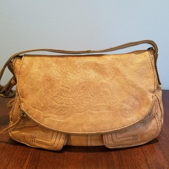 Lucky Brand Handbags - Lucky Brand Italian Leather Shoulder Bag